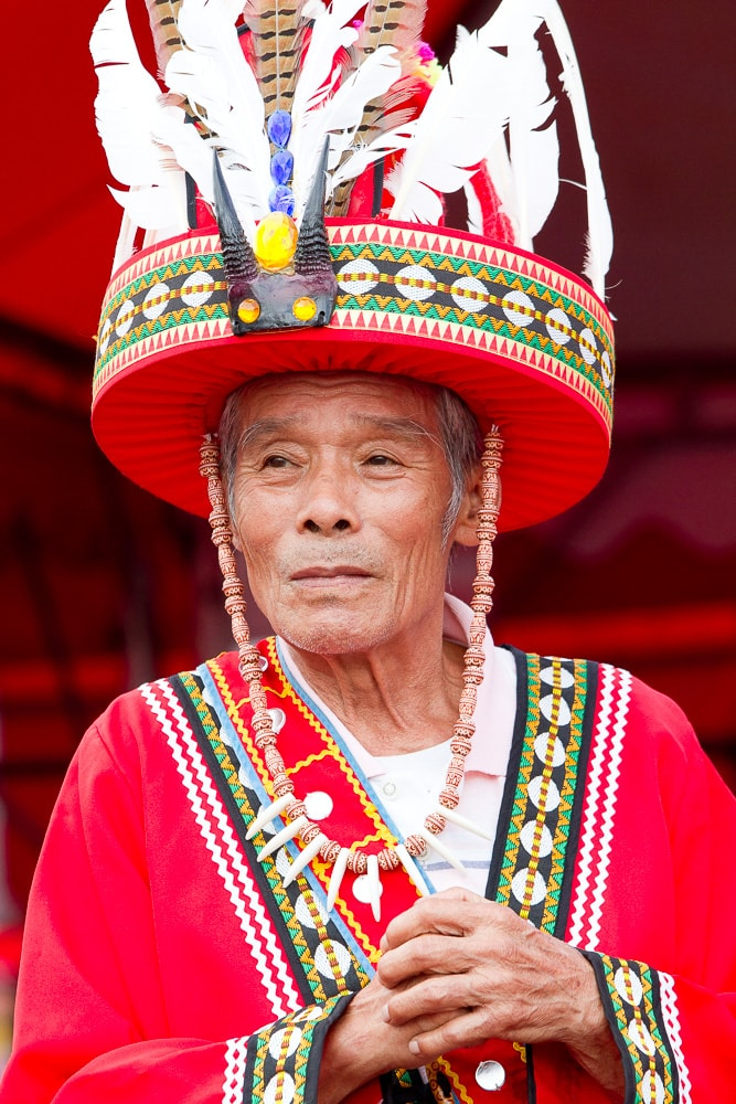 Aboriginal leader, aboriginal festival in Hualian, Taiwan