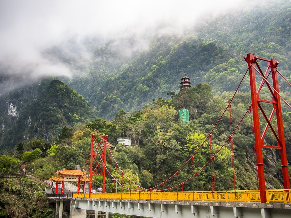 Taroko Gorge, one of the most famous Taiwan attractions