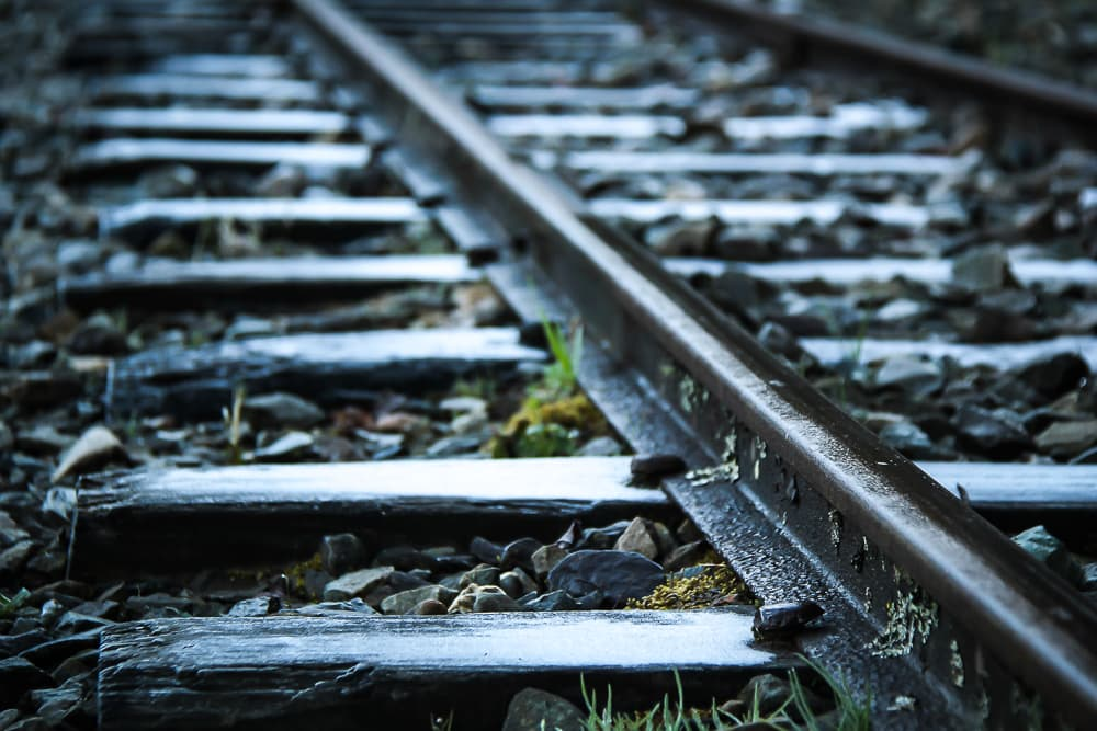 Alishan Forest Railway tracks