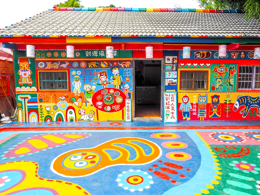 Rainbow Village Taichung, one of the top Taichung attractions