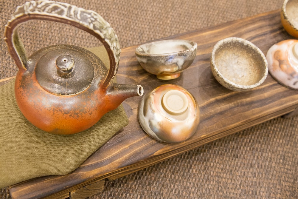 Tea set from Yingge, Taiwan